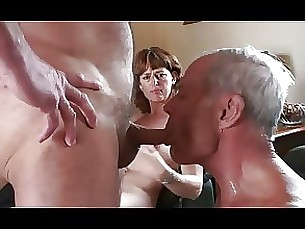 threesome strapon mature