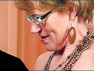 blowjob cumshot hidden-cam mature milf secretary