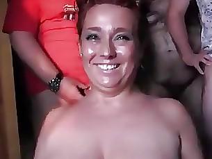 bukkake mature hardcore cumshot