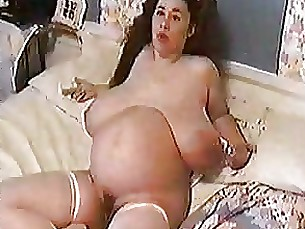 sweet pregnant mature masturbation massage