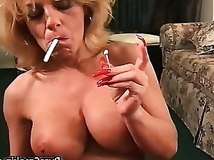 smoking oral milf mature fetish boobs blowjob amateur