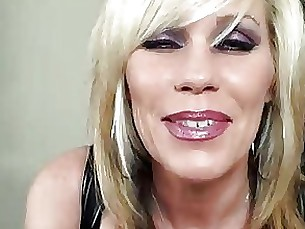 masturbation mature pov strapon