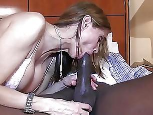 wife milf interracial hot creampie big-cock