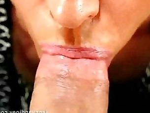 blowjob couple mature mouthful pov amateur