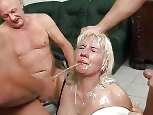 bukkake blonde amateur whore shower mature cumshot