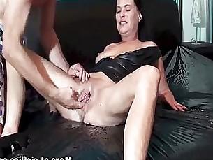 masturbation wife milf fisting fetish couple amateur