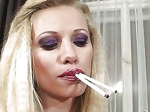 milf smoking