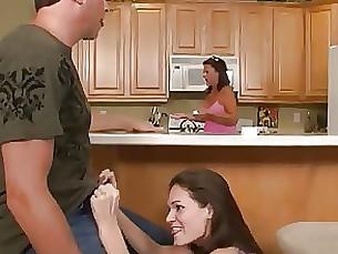blowjob cumshot handjob jerking mammy milf sister