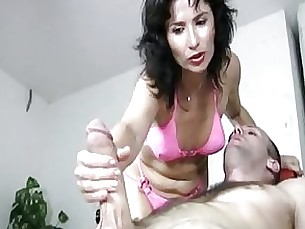 milf brunette bikini massage handjob ass masturbation couple nasty