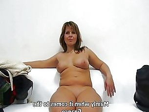 pov milf couple casting brunette blowjob amateur