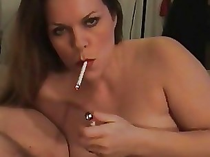 smoking mature blowjob amateur