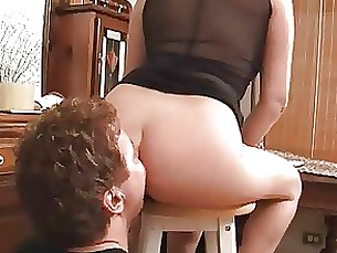 rimming mature licking ass amateur