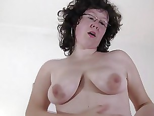 ass glasses mature milf