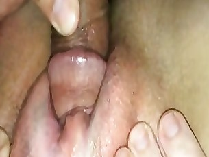 creampie mature pussy amateur brunette close-up fuck