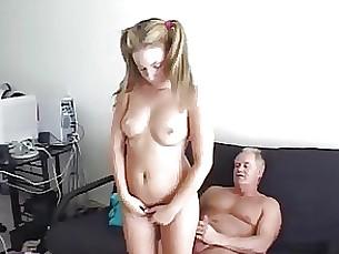 daddy spanking punished daughter