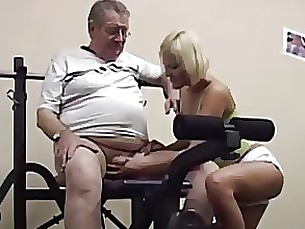 blonde daddy sport