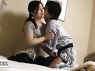 ass brunette cougar handjob hot hotel japanese kiss massage