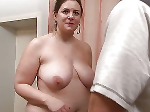 mature bbw amateur milf brunette anal