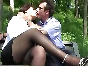 fuck hot mature milf outdoor