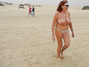 public mature beach amateur
