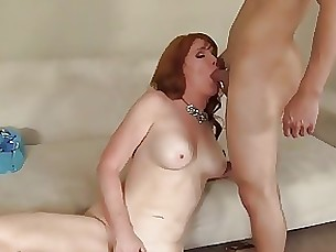 creampie mature pussy redhead