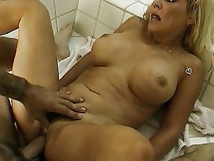 bathroom mature couple busty bus blowjob