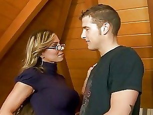 teacher student smoking milf homemade