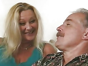 granny bdsm anal threesome milf mature