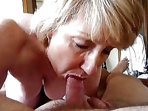 mature facials blowjob blonde