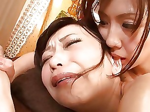 lesbian japanese ass mature massage