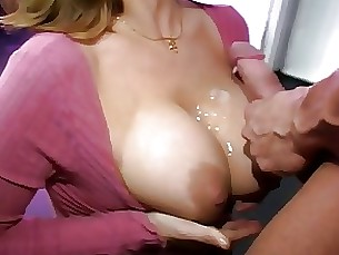 pornstar milf lingerie huge-cock ass big-tits sucking blowjob brunette