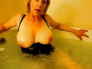 solo milf mature masturbation kitty blonde amateur