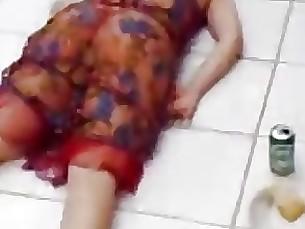 nude milf striptease dancing ass stunning