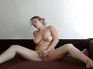 blonde fingering masturbation milf