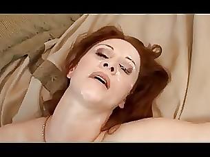 redhead milf interracial anal