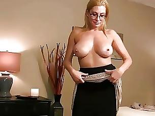 lingerie mammy milf pov skirt upskirt