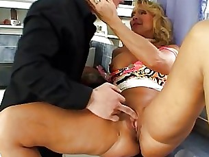 blonde blowjob couple mature shaved sperm