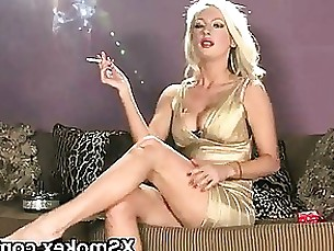 anal amateur smoking seduced milf fetish blonde