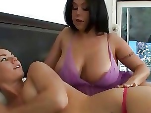 milf mammy lesbian daughter seduced pornstar