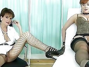handjob dildo mature lesbian