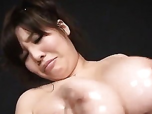 seduced milf japanese gang-bang fingering babe