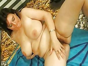 solo milf masturbation hairy bbw cumshot brunette big-tits