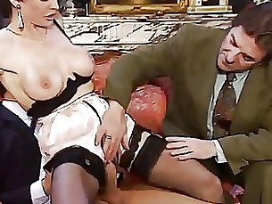 anal fuck mature threesome vintage