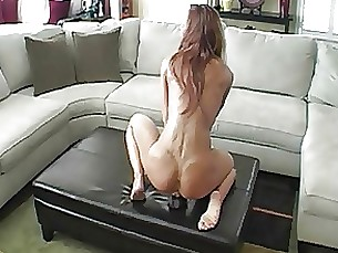 interracial dildo black amateur ride milf masturbation