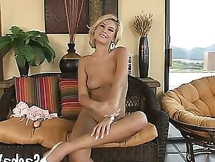 amateur blonde dildo fuck masturbation milf solo