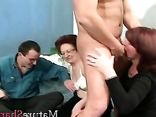 party mature granny blowjob