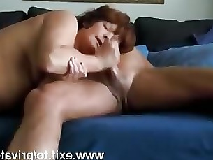 amateur blowjob hardcore couple mature cumshot milf mouthful wife