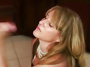 milf mammy handjob cumshot blowjob