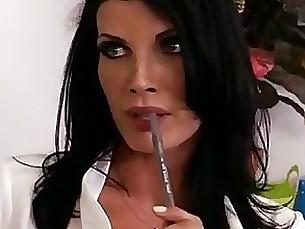 brunette cumshot hardcore mature milf teacher