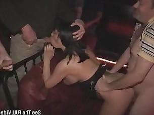 gang-bang bukkake anal whore public milf